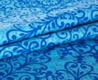 Apartmento Anaya KB Quilt Cover Set - Blue/Green 5