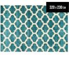 Patterns 320 x 230cm Zen Rug - Blue 1