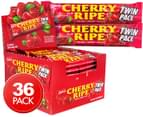 36 x Cadbury Cherry Ripe Twin Bars 80g 1