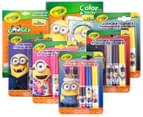 Crayola Minions Value Set 1