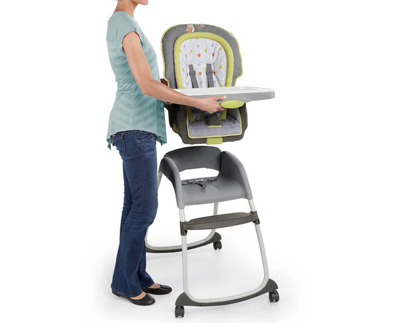 Ingenuity Trio 3 In 1 Deluxe High Chair Marlo Ebay