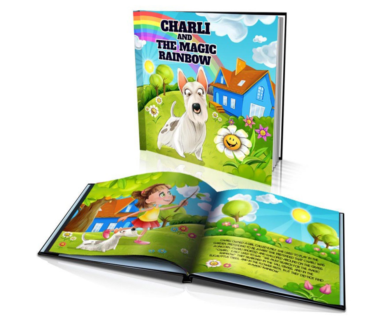 Personalised Kids' Standard Hard Cover Story Book   Great ...