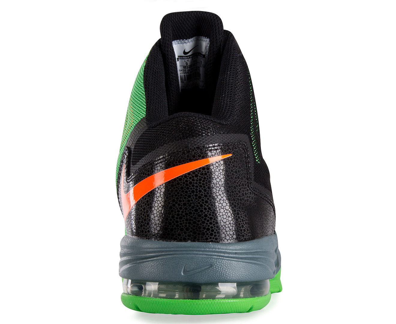 nike mens air max stutter step 2 shoe blackmetallic