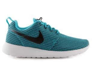 Nike Women's Roshe Run Shoe - Clearwater/Black/White