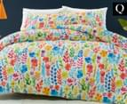 Belmondo Home Monet Queen Quilt Cover Set - Multi 1