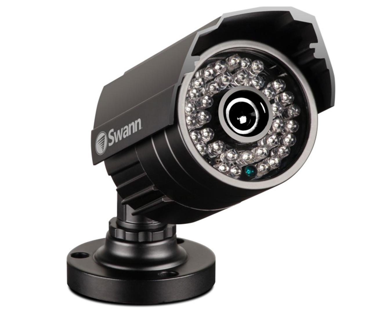 Swann Dvr8-3425 8-channel Bullet Dvr W   8 X Pro-735 Cameras