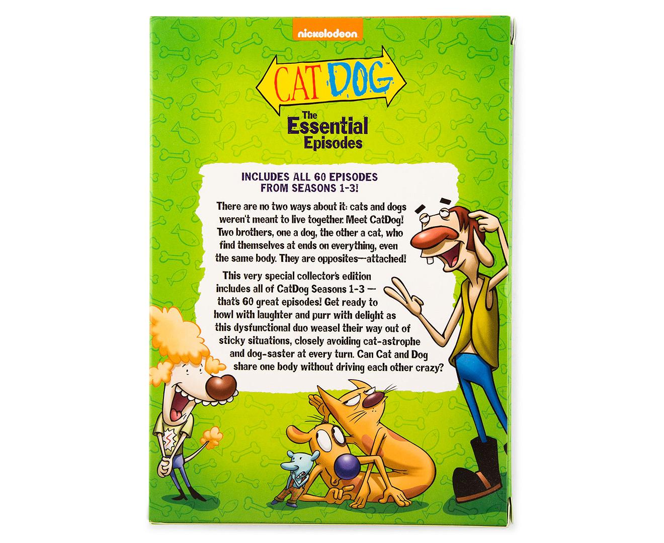 Catdog The Essential Episodes Dvd Set G Catch Com Au