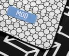 Mod By Linen House Ravi DB Quilt Cover Set - Black/White 6