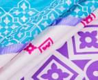 Mod By Linen House Azaria KB Quilt Cover Set - Multi 4