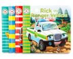 Emergency Vehicles 4-Book Set 2