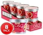 8 x Uncle Tobys O&G Cereal Cups - Cranberry Strawberry & Almond 50g 1