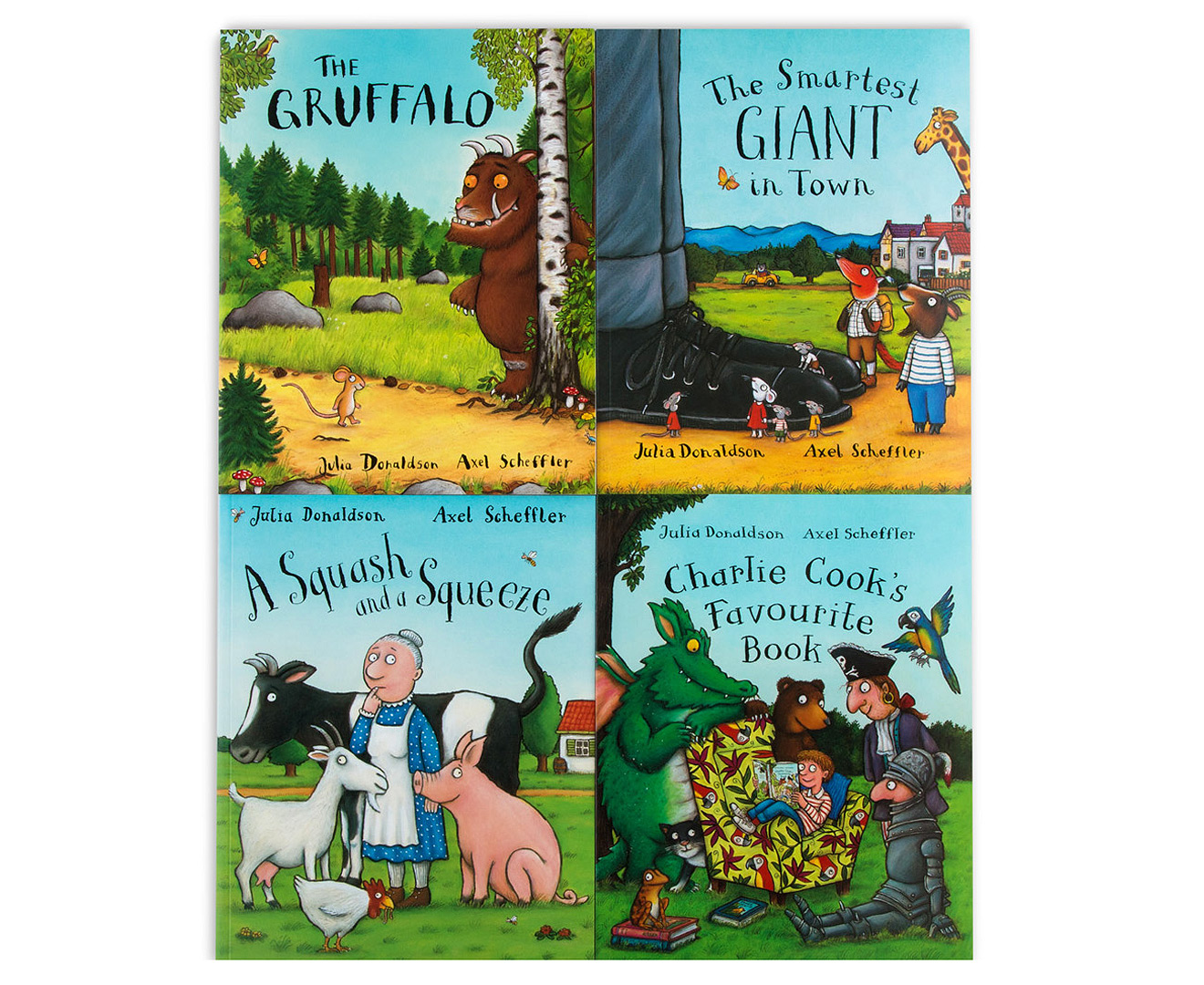 The Julia Donaldson Collection 10-Book Pack