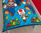 Nintendo Super Mario Games Single Duvet Set - Multi 3
