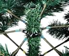 180cm Artificial Christmas Tree w/ Snow - Olive Green 4