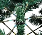 210cm Artificial Christmas Tree w/ Snow - Oilve Green 4