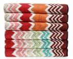 Missoni Home Rufus 40x70cm Hand Towel 6-Pack - Multi 1