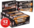 12 x Musashi Growling Dog Energy Bars Chocolate 65g 1