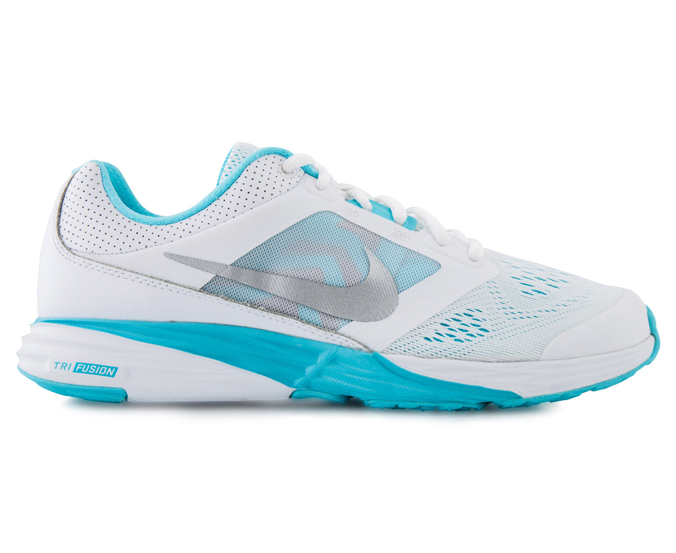 Nike Tri Fusion Run Women's Shoe - White/Metallic Silver/Blue | Great daily  deals at Australia's favourite superstore | Catch.com.au