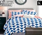 Gioia Casa King Lifestyle Reversible Quilt Cover Set 1