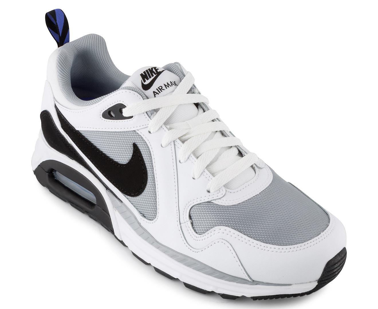 pánico piloto Rascacielos  Nike Air Max Trax Leather Men's Shoe - Wolf Grey/Black/White/Violet |  Catch.com.au