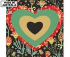 Love Heart 75x75cm Canvas Wall Art 1