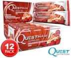 12 x Quest Protein Bars Strawberry Cheesecake 60g 1