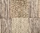 Cut & Loop Mix 200x140cm Hand-Loomed Rug - Beige 6