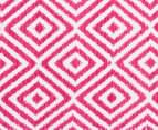Dreamy Cotton Flatweave 220x150cm Reversible Rug - Pink 4