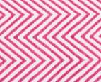 Dreamy Cotton Flatweave 220x150cm Reversible Rug - Pink 4