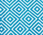 Dreamy Cotton Flatweave 270x180cm Reversible Rug - Turquoise 4