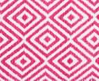 Dreamy Cotton Flatweave 270x180cm Reversible Rug - Pink 4