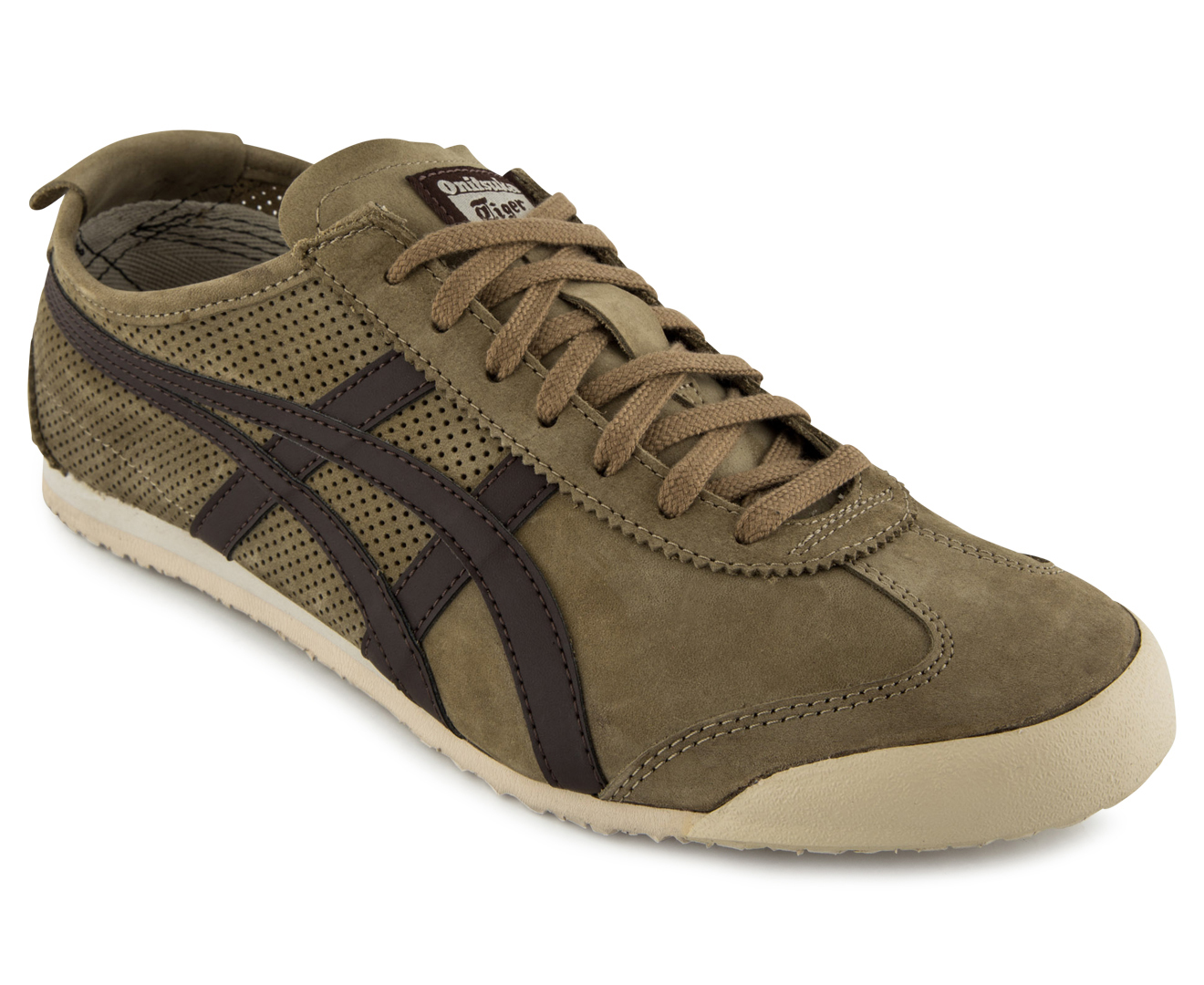 classic fit e4506 37427 Onitsuka Tiger Men's Mexico 66 Shoe - Light Brown/Dark Brown