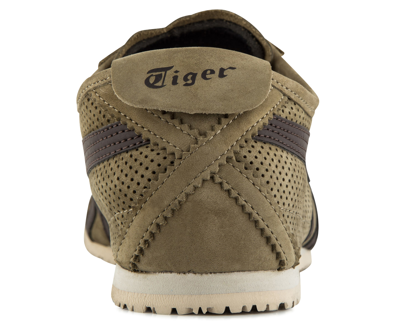 classic fit 8f91c f1a5d Onitsuka Tiger Men's Mexico 66 Shoe - Light Brown/Dark Brown