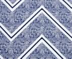 Designers Choice Asha DB Quilt Cover Set - Ink 2