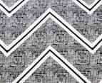 Designers Choice Asha QB Quilt Cover Set - Black 2