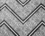 Designers Choice Asha Single Quilt Cover Set - Charcoal 2