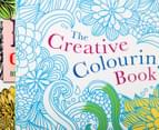 Creative Colouring 3-Book Pack with Pencils 3