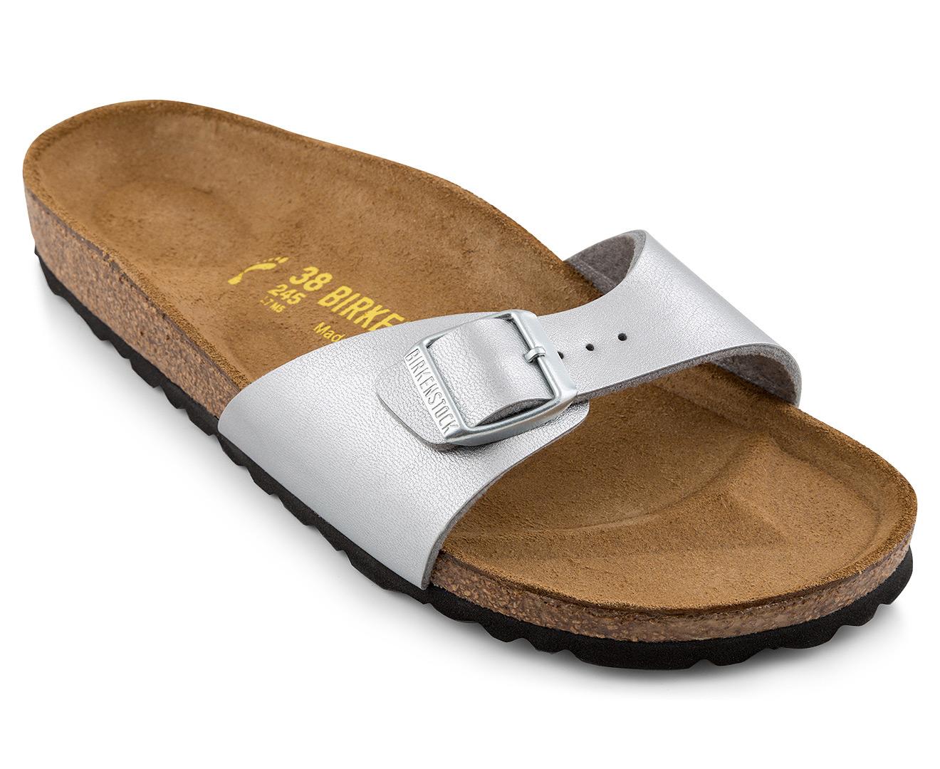 birkenstock madrid sandals silver ebay. Black Bedroom Furniture Sets. Home Design Ideas