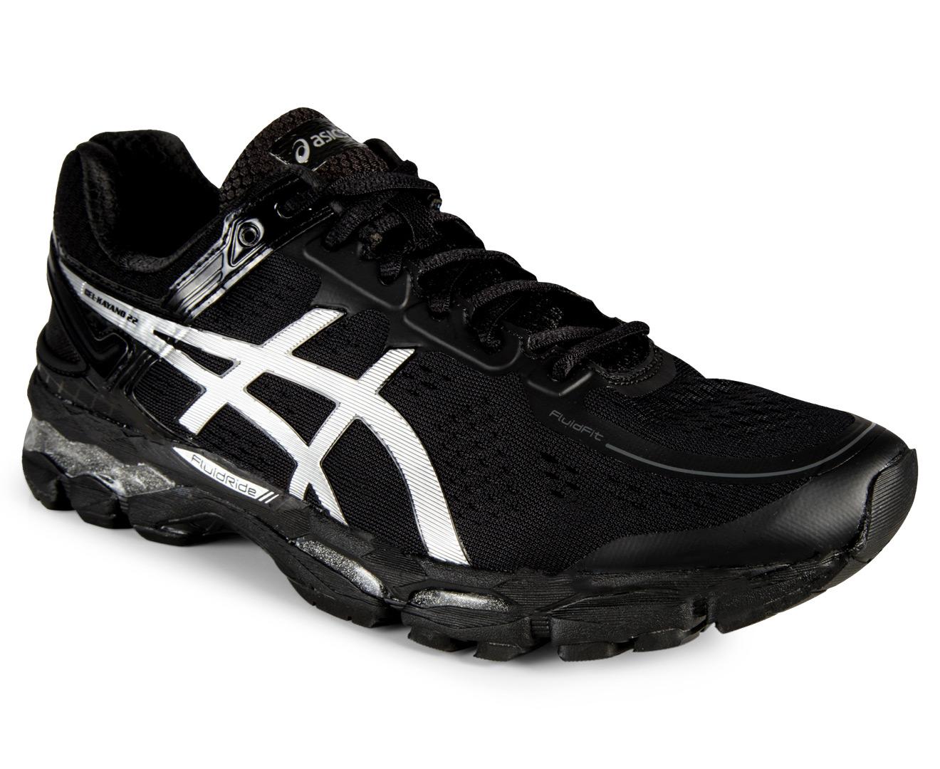 Buy asics gel kayano 22 mens shoes onyxsilvercharcoal