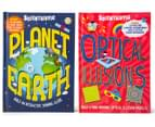 Scientriffic Planet Earth + Optical Illusions Book Pack 1