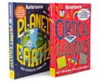 Scientriffic Planet Earth + Optical Illusions Book Pack 2