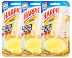 3 x Harpic Active Fresh Hygienic Toilet Block Citrus 40g 1