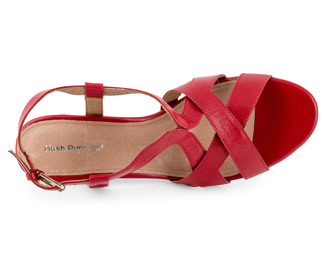 dfd479a5a Hush Puppies Women s Oracle Heels - Poppy Red
