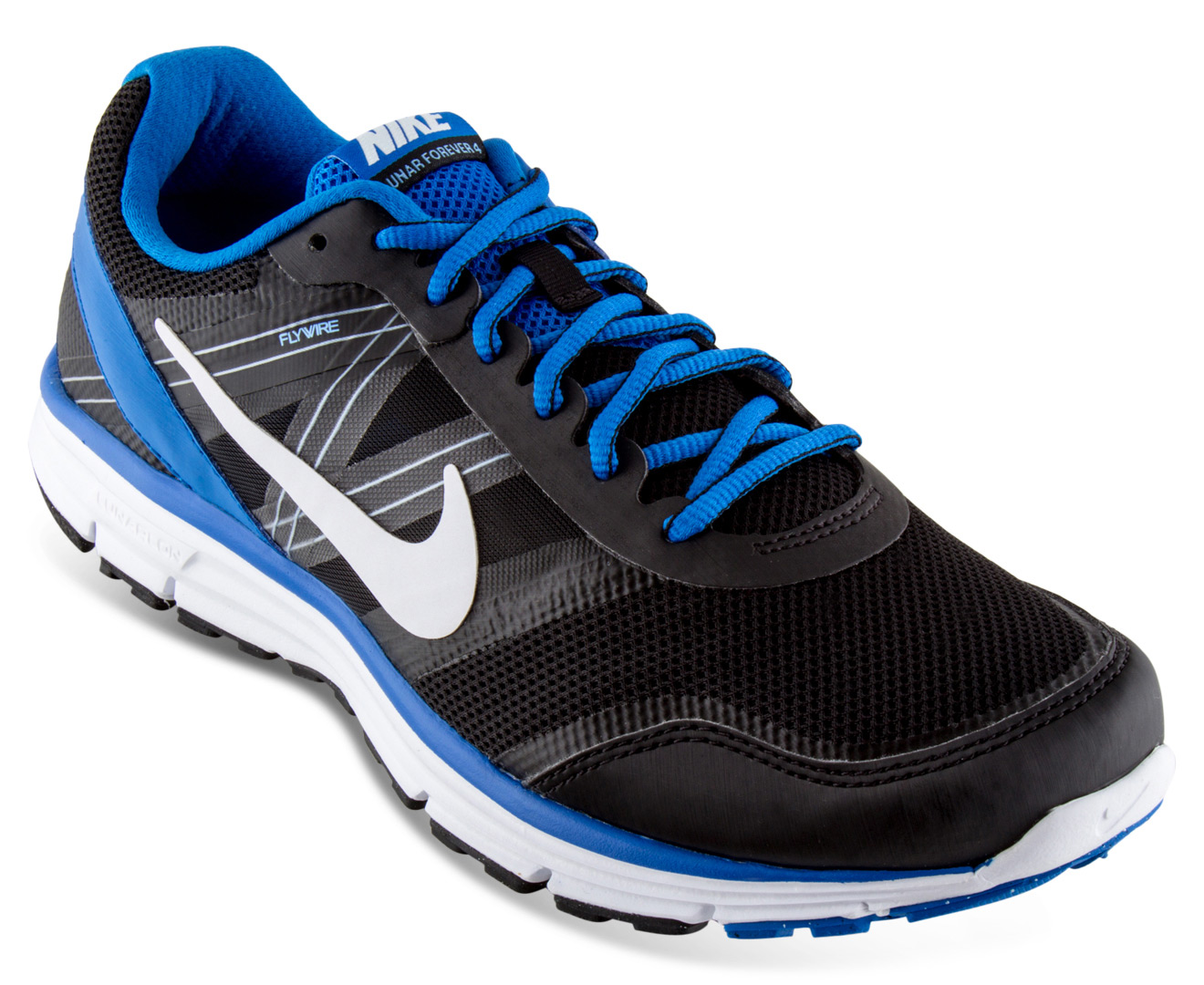 Nike Men's Lunar Forever 4 MSL Shoe - Black/Blue | Great daily deals at  Australia's favourite superstore | Catch.com.au