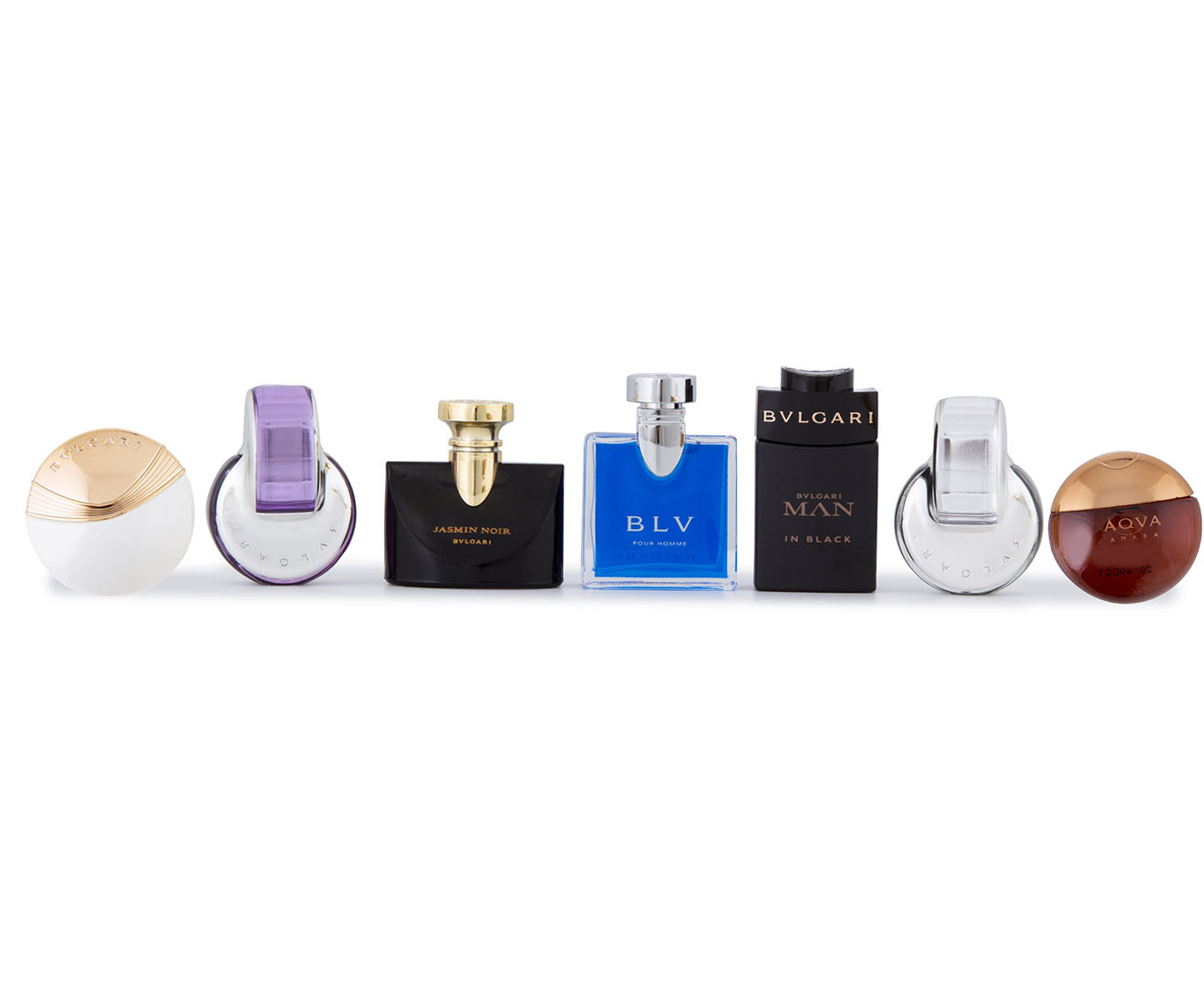 Bvlgari Iconic Miniature Collection 7-Piece Gift Set   Catch.com.au bbcf0ee0606