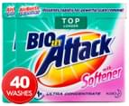 2 x Biozet Attack Top Loader Laundry Powder with Softener 900g 1