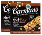 Carman's Roasted Nut Bars Hazelnut & Vanilla + Cashew & Cranberry 20pk 5
