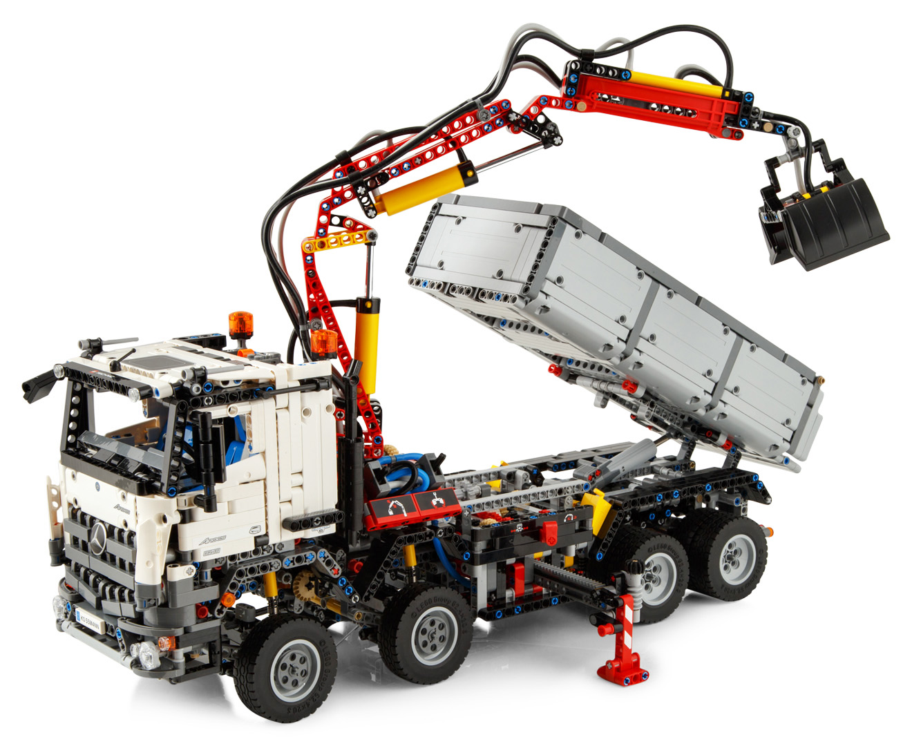 Lego technic mercedes benz arocs 3245 building set for Lego mercedes benz