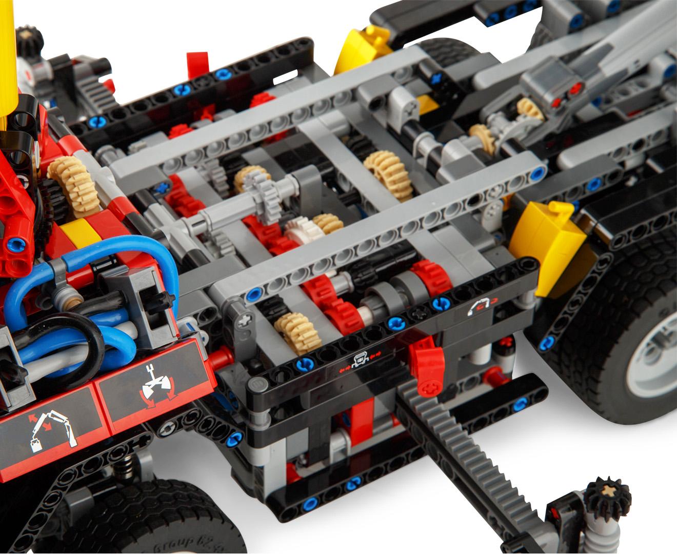 Lego technic mercedes benz arocs 3245 building set ebay for Lego mercedes benz