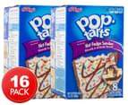 2 x Kellogg's Pop-Tarts Frosted Hot Fudge Sundae 384g 8pk 1
